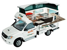 Apollo 4WD Camper