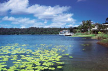 Lake Barrine, Atherton Tablelands, Queensland, Australie