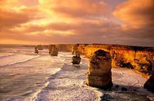 La Great Ocean Road, Victoria, Australie